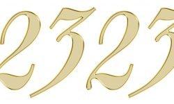 Significado do número 2323: Numerologia Dois mil trezentos e vinte e três