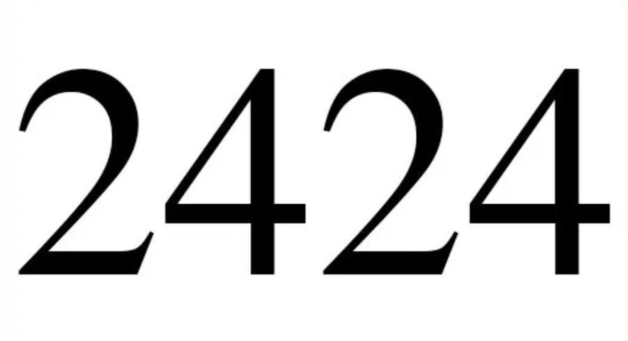 Dois mil quatrocentos e vinte e quatro