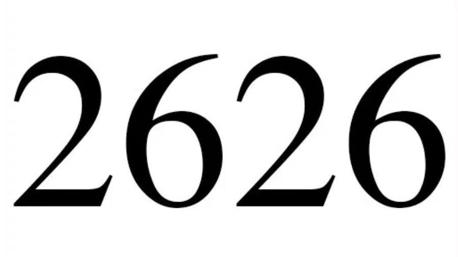 Dois mil seiscentos e vinte e seis