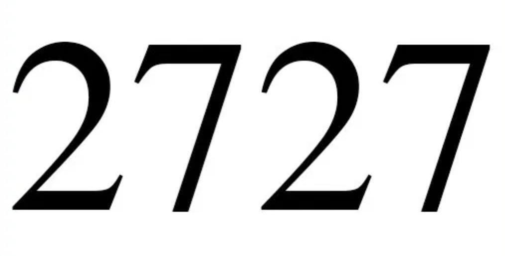 Dois mil setecentos e vinte e sete
