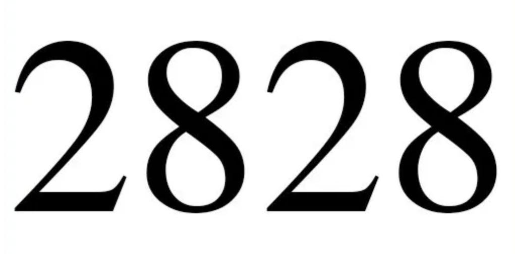 Dois mil oitocentos e vinte e oito