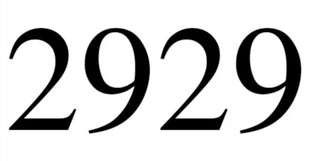 Dois mil novecentos e vinte e nove