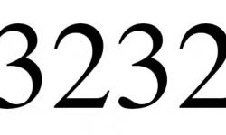 Significado do número 3232: Numerologia Três mil duzentos e trinta e dois