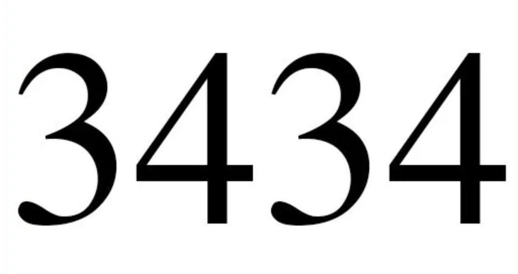 Três mil quatrocentos e trinta e quatro
