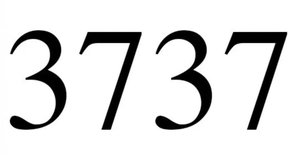 Três mil setecentos e trinta e sete