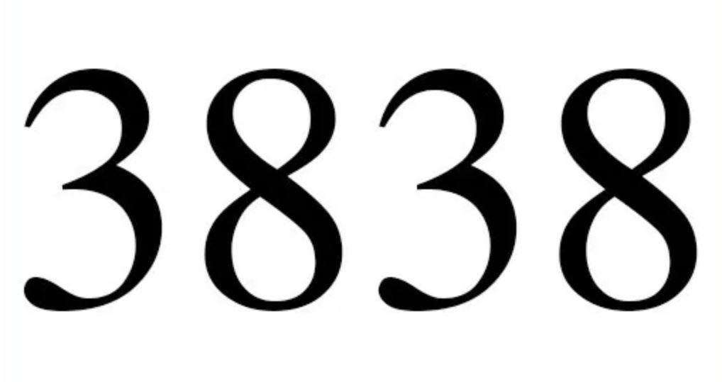 Três mil oitocentos e trinta e oito