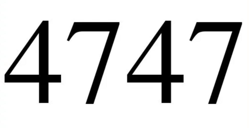 Quatro mil setecentos e quarenta e sete
