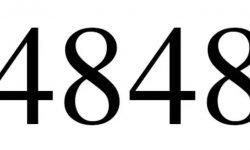 Significado do número 4848: Numerologia Quatro mil oitocentos e quarenta e oito