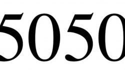 Significado do número 5050: Numerologia Cinco mil e cinquenta