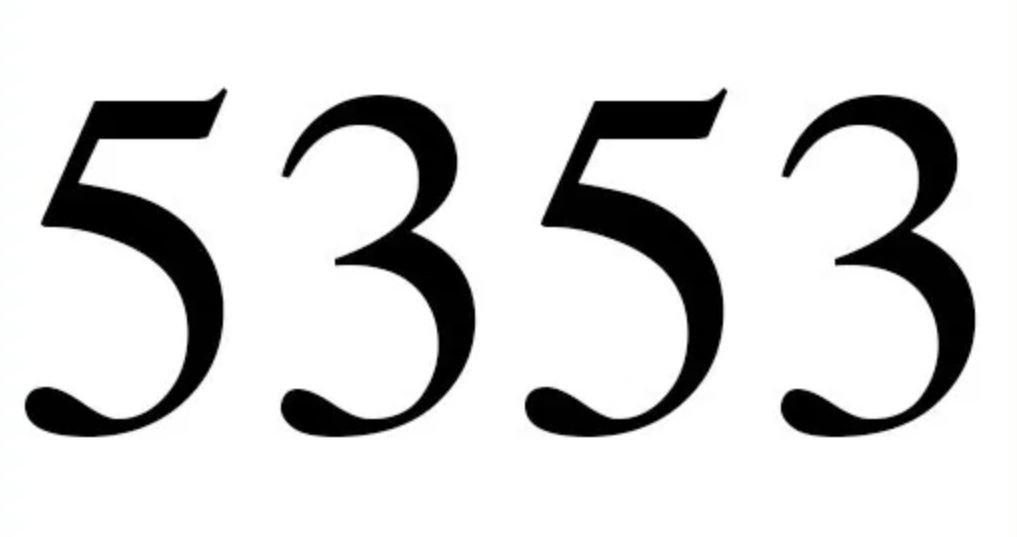 Cinco mil trezentos e cinquenta e três