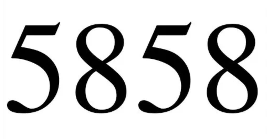 Cinco mil oitocentos e cinquenta e oito