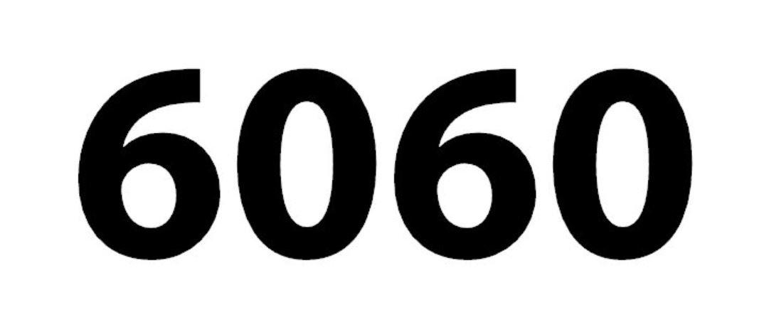 Significado do número 6060