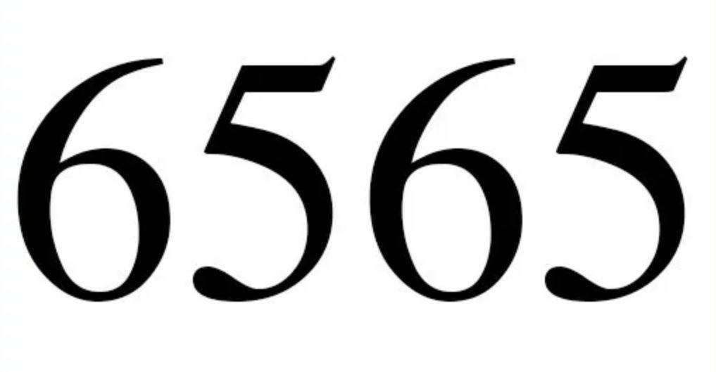 Significado do número 6565