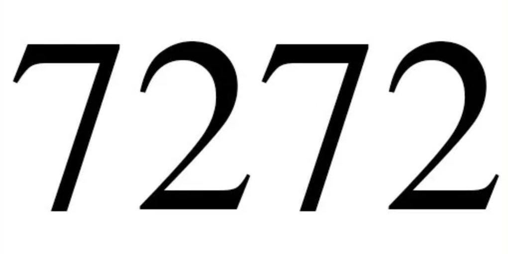 Significado do número 7272