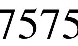 Significado do número 7575: Interpretação da numerologia