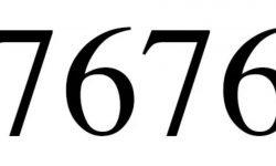 Significado do número 7676: Interpretação da numerologia