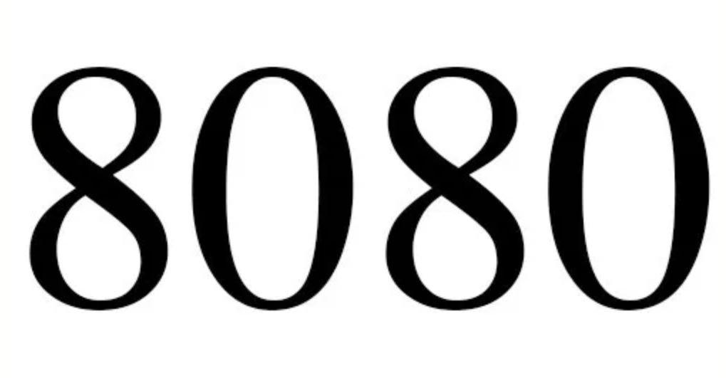 Significado do número 8080