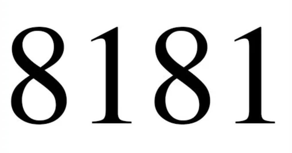 Significado do número 8181