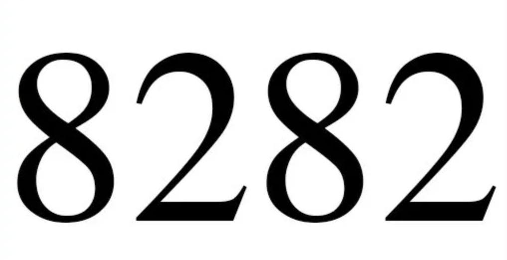 Significado do número 8282