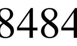 Significado do número 8484: Interpretação da numerologia