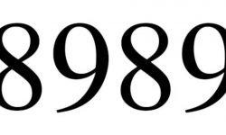 Significado do número 8989: Interpretação da numerologia