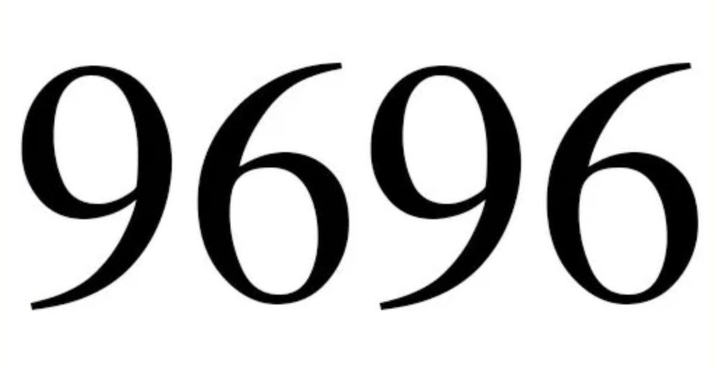 Significado do número 9696