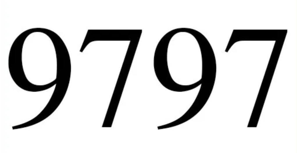 Significado do número 9797