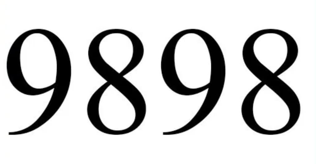 Significado do número 9898