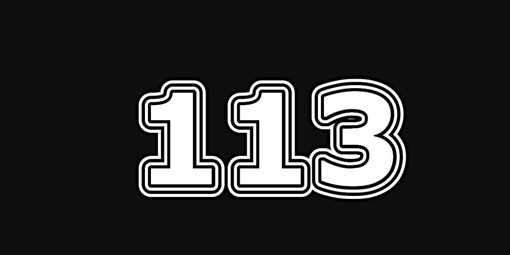 Significado do número 113