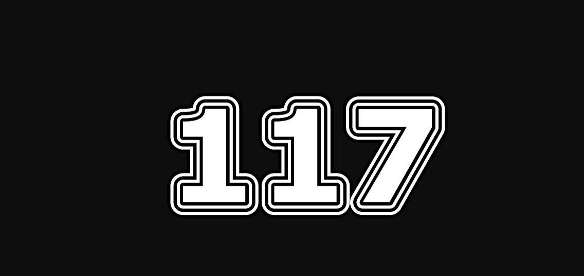 Significado do número 117