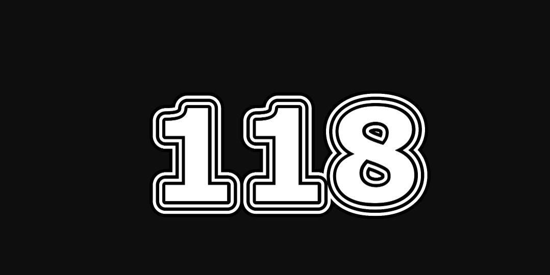 Significado do número 118