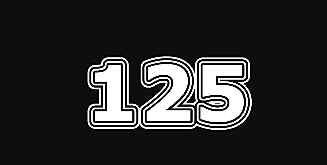Significado do número 125