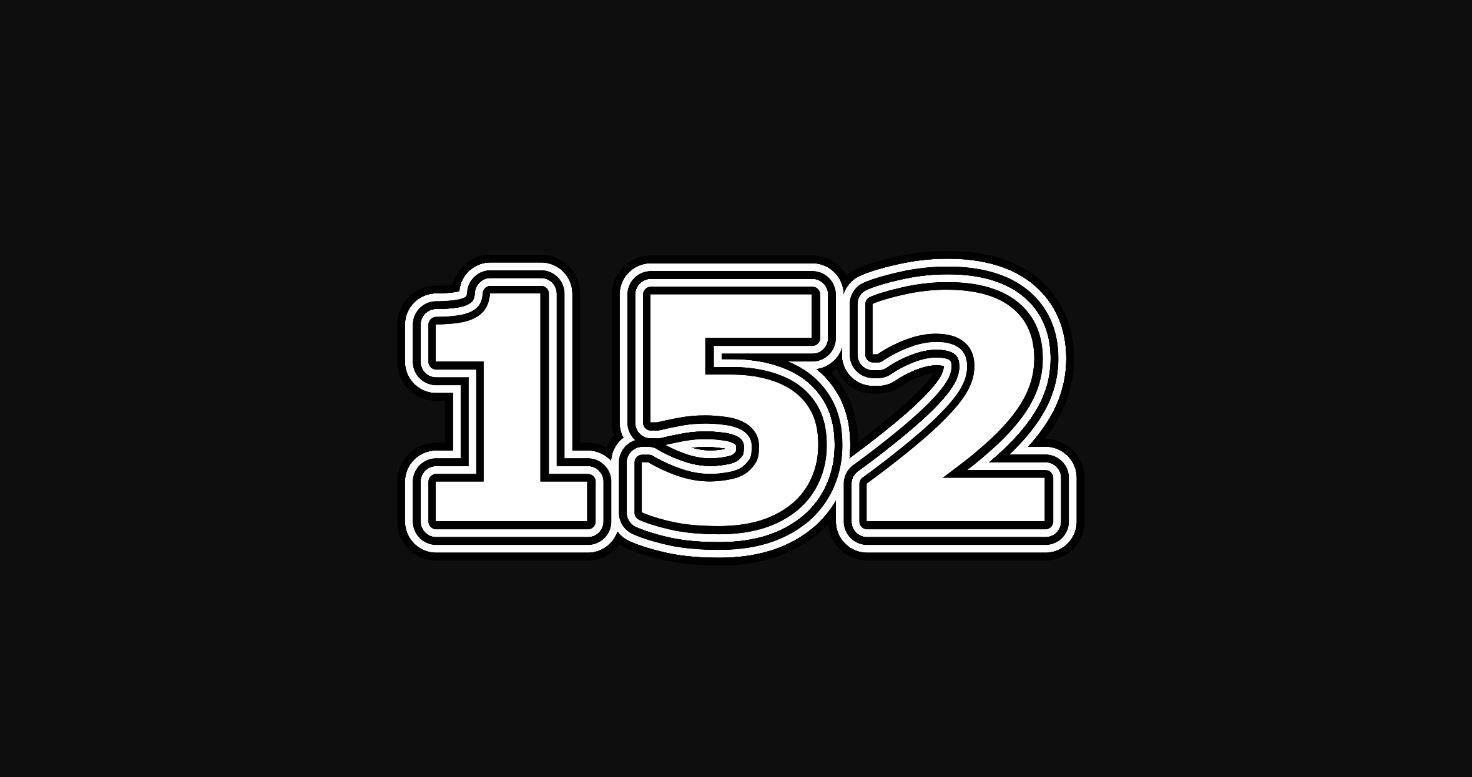 Significado do número 152