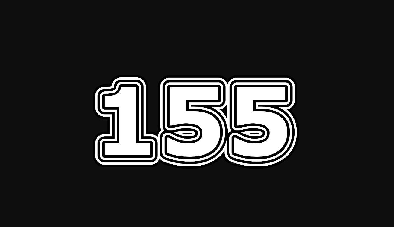 Significado do número 155