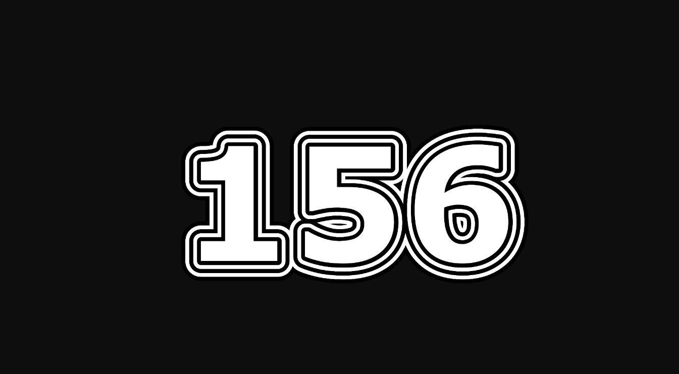Significado do número 156