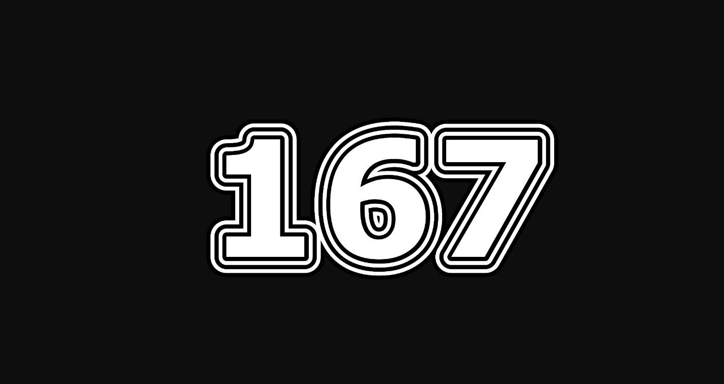 Significado do número 167