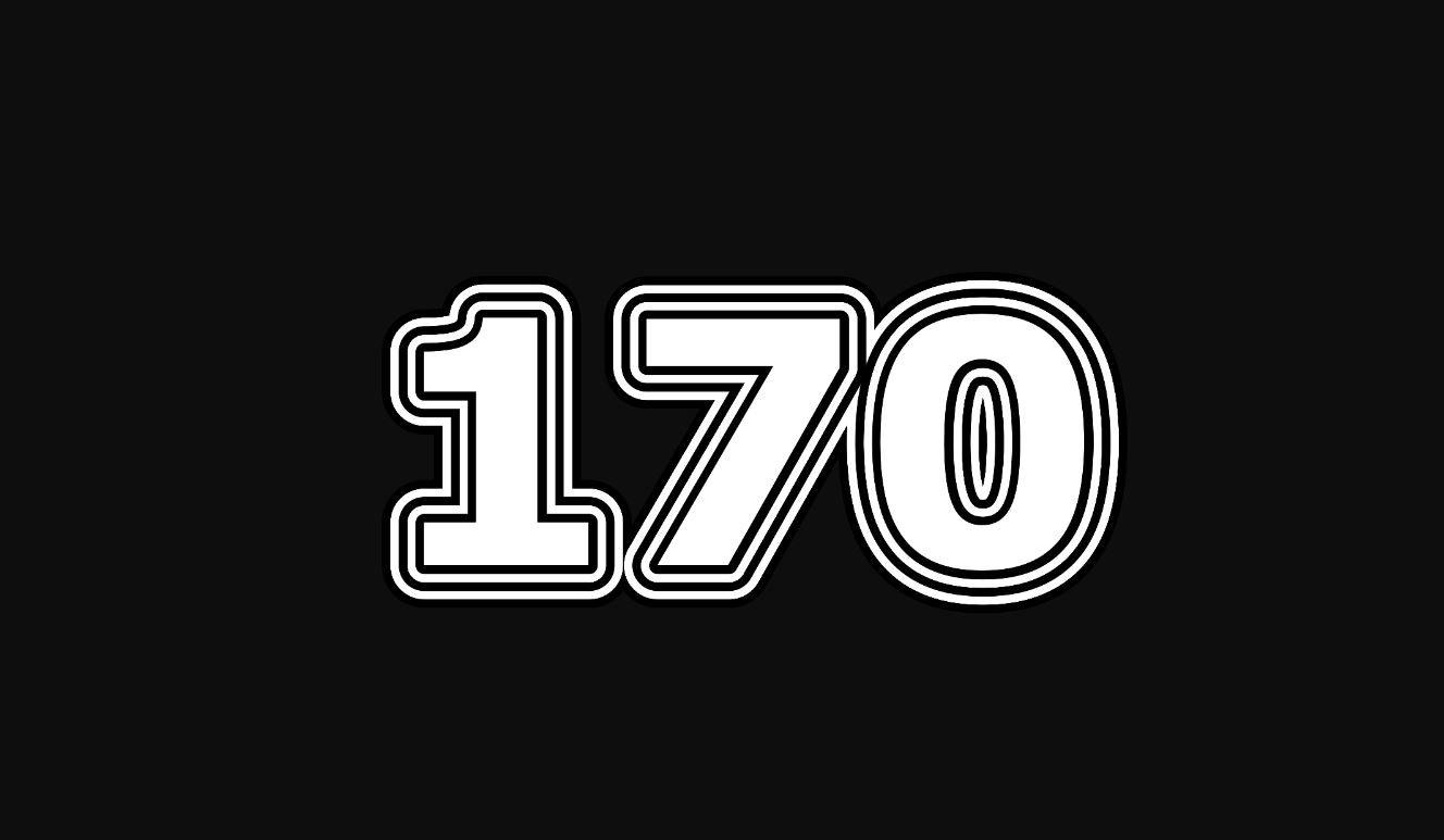 Significado do número 170