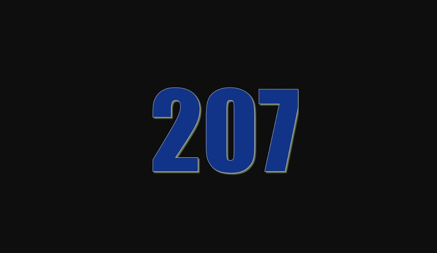Significado do número 207
