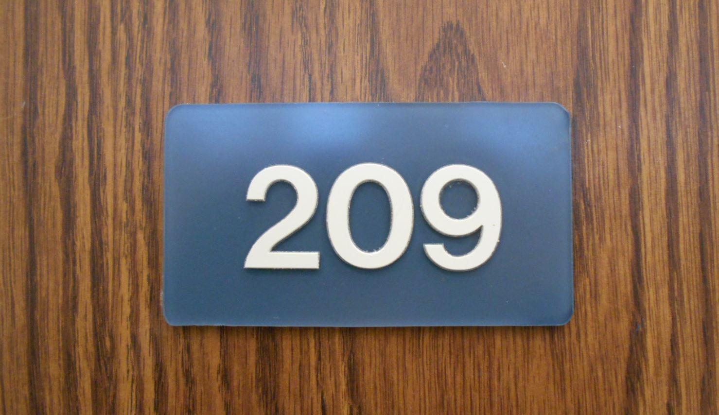 Significado do número 209