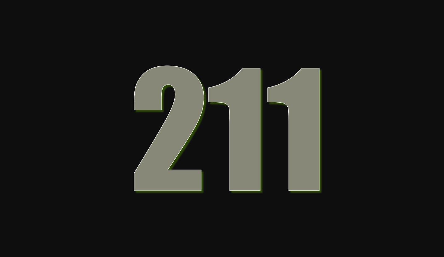 Significado do número 211