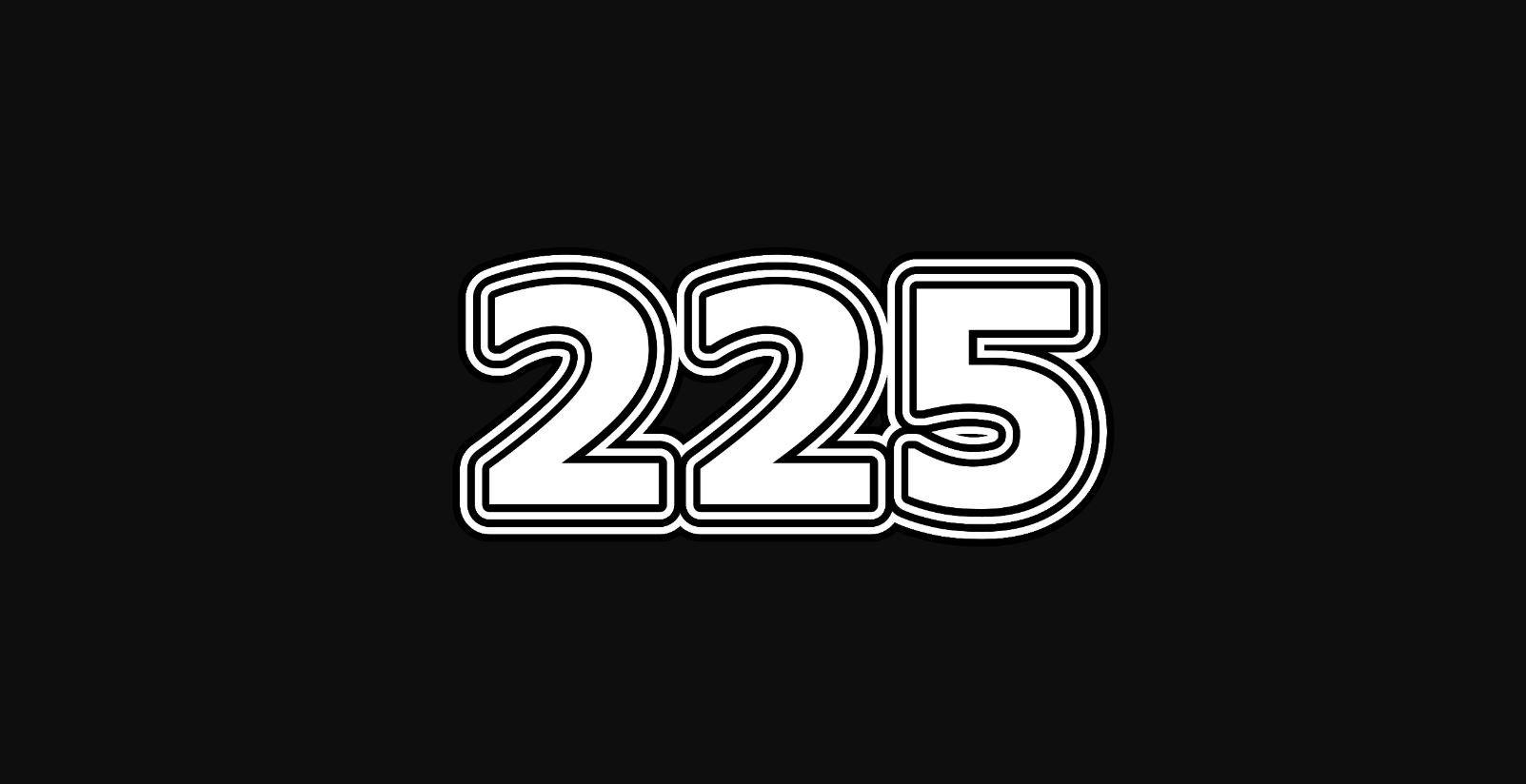Significado do número 225