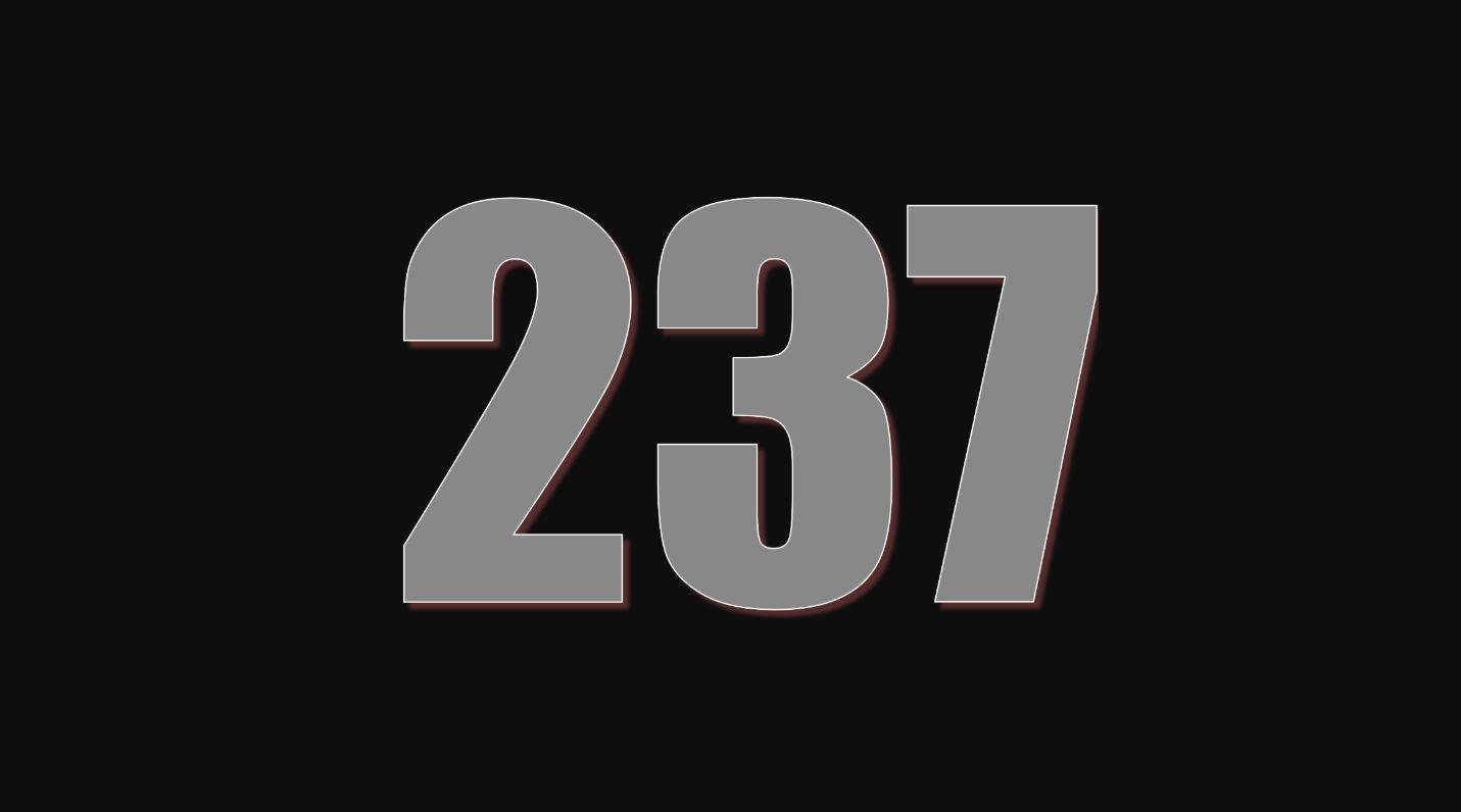 Significado do número 237