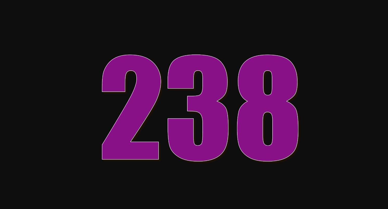 Significado do número 238