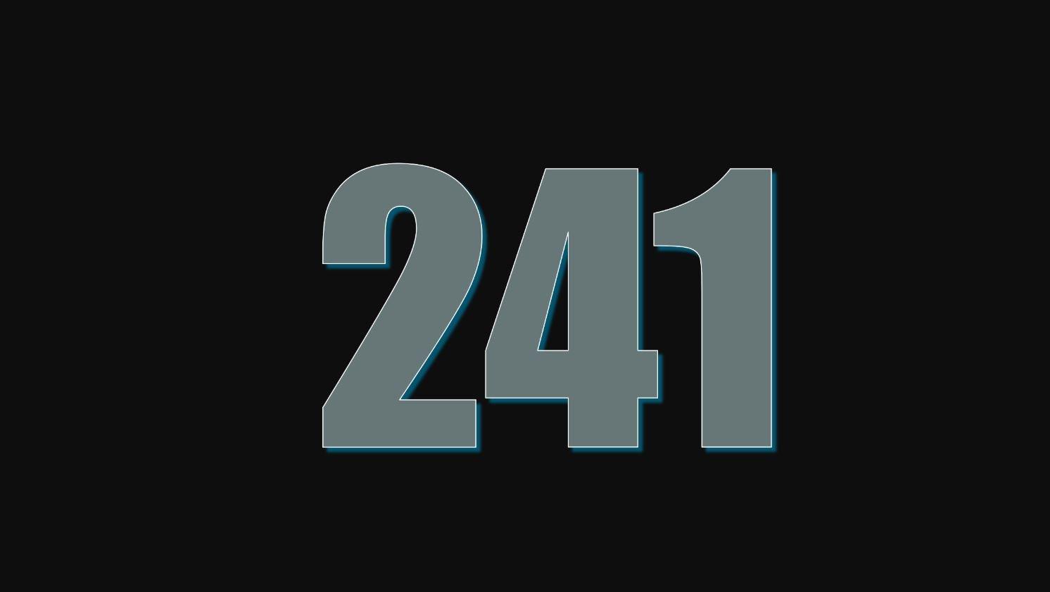 Significado do número 241