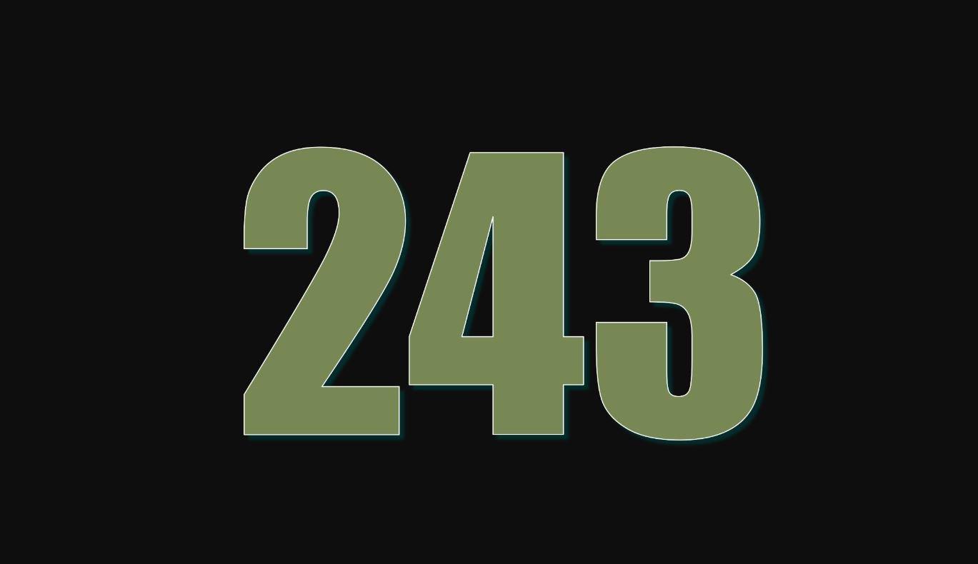 Significado do número 243