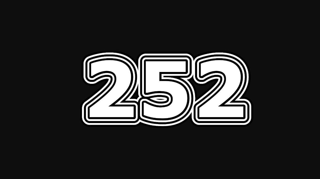 Significado do número 252