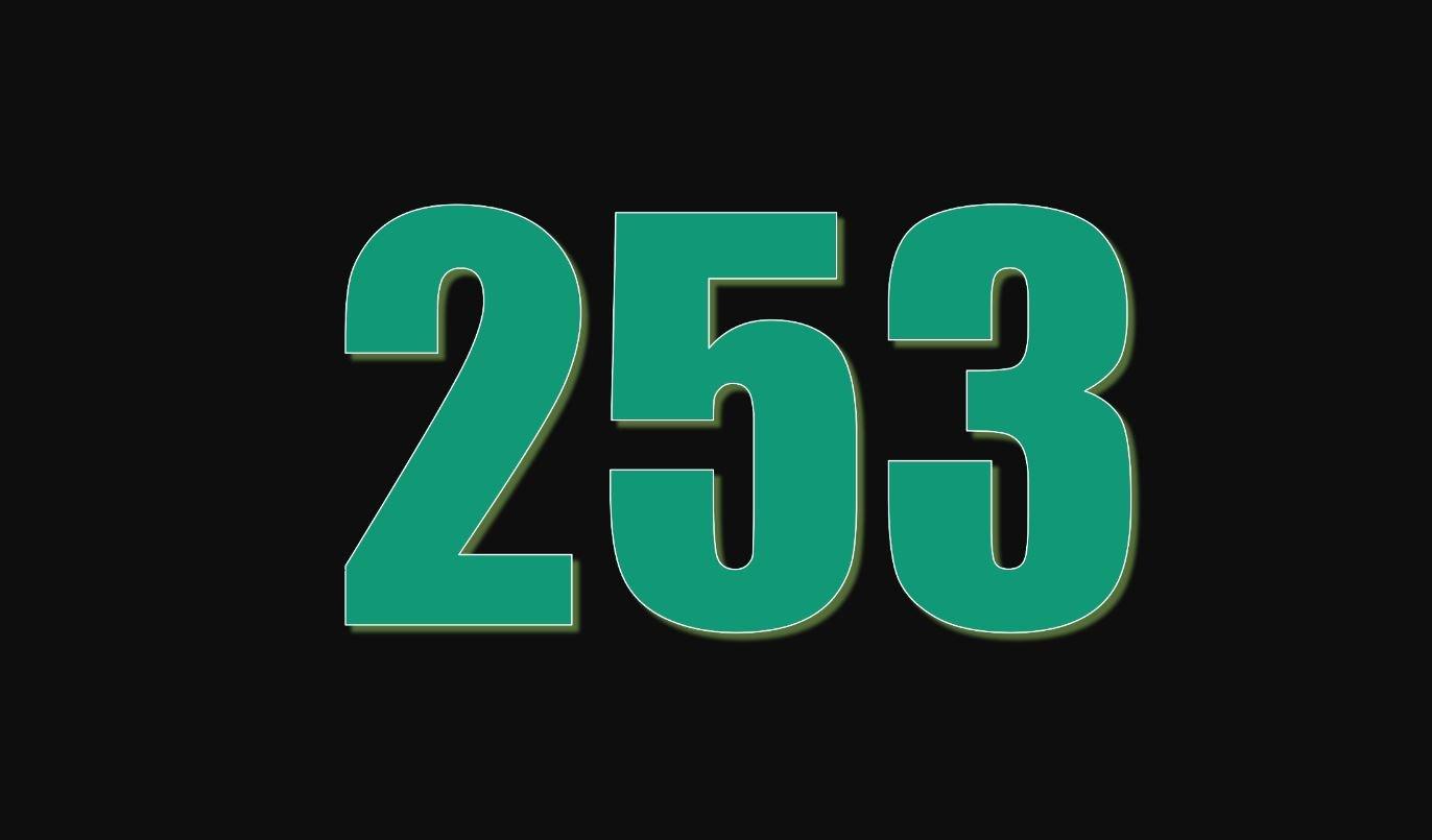 Significado do número 253