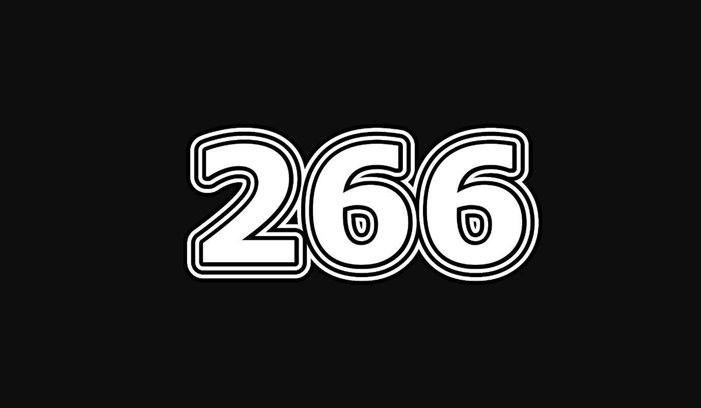 Significado do número 266