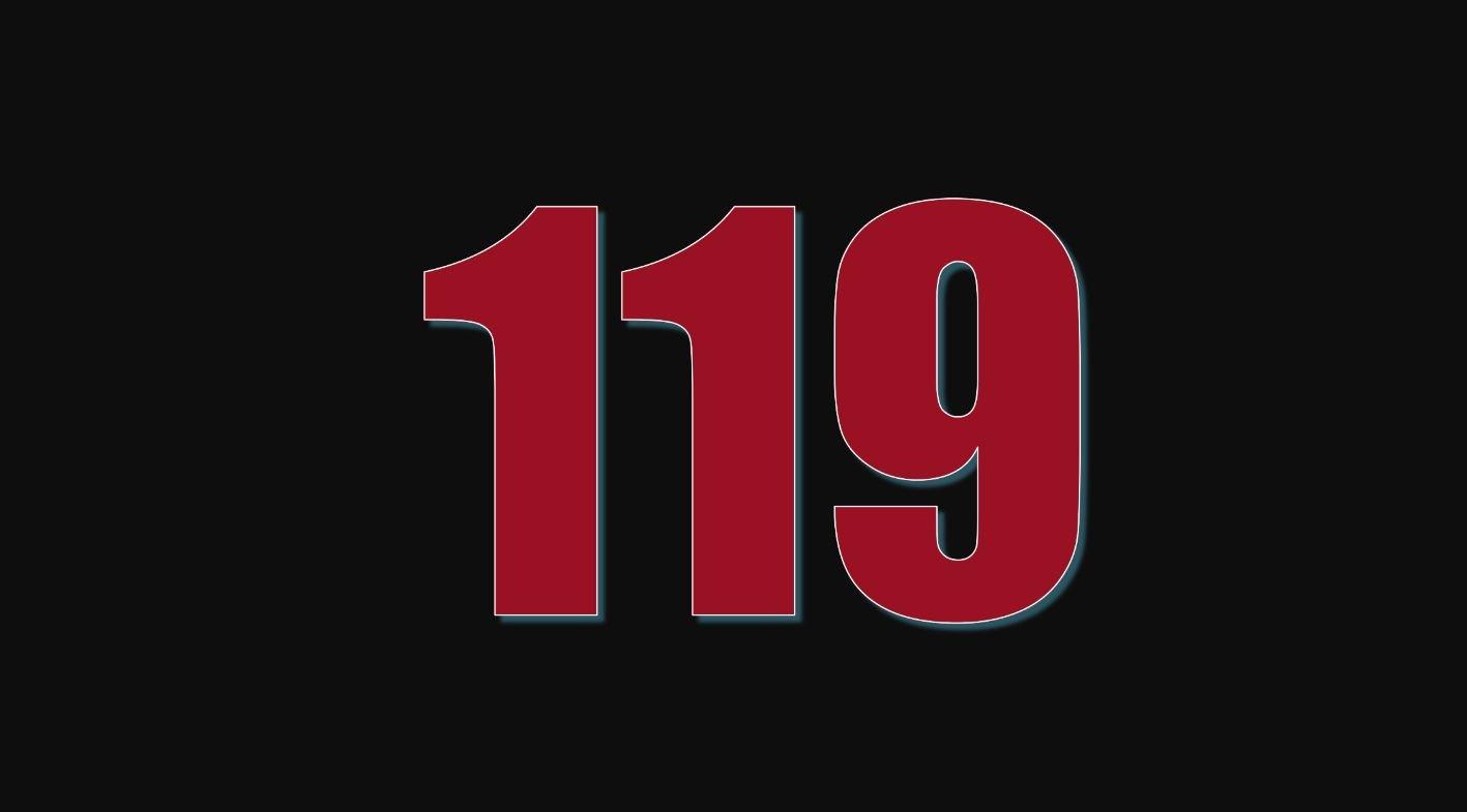 Significado do número 119