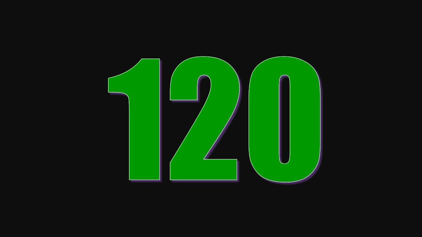 Significado do número 120